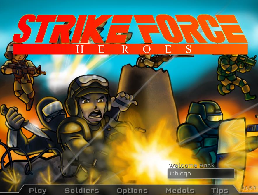 Strike Force Heroes Teknoloji