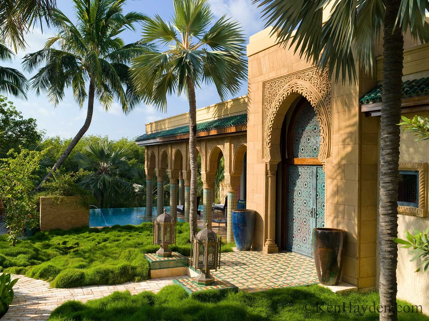 Moroccan residential architecture google search arab for Moroccan house plans