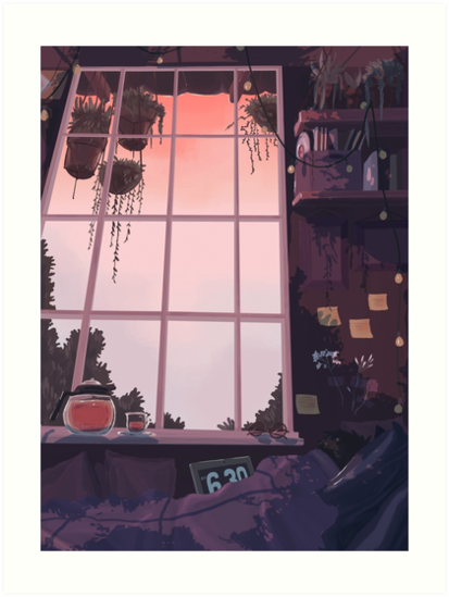 endless sleep Art Print