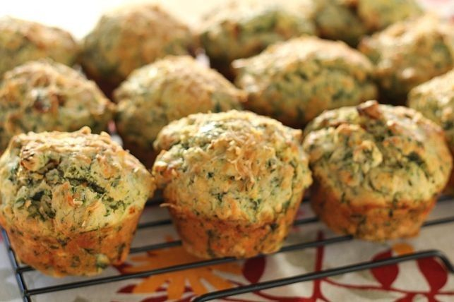 Savoury muffins for sugar-free snacking