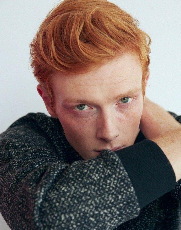 Junge Rote Haare