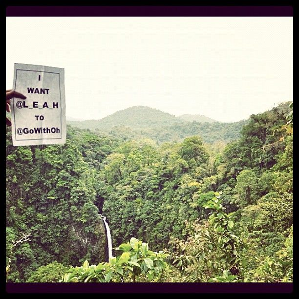 Costa Rica, the rain forest, mountains, and that waterfall want me to @Go with Oh. Rainbows appear here: http://leahtravels.com/site/places/italy/i-want-to-go-with-oh-to-florence
