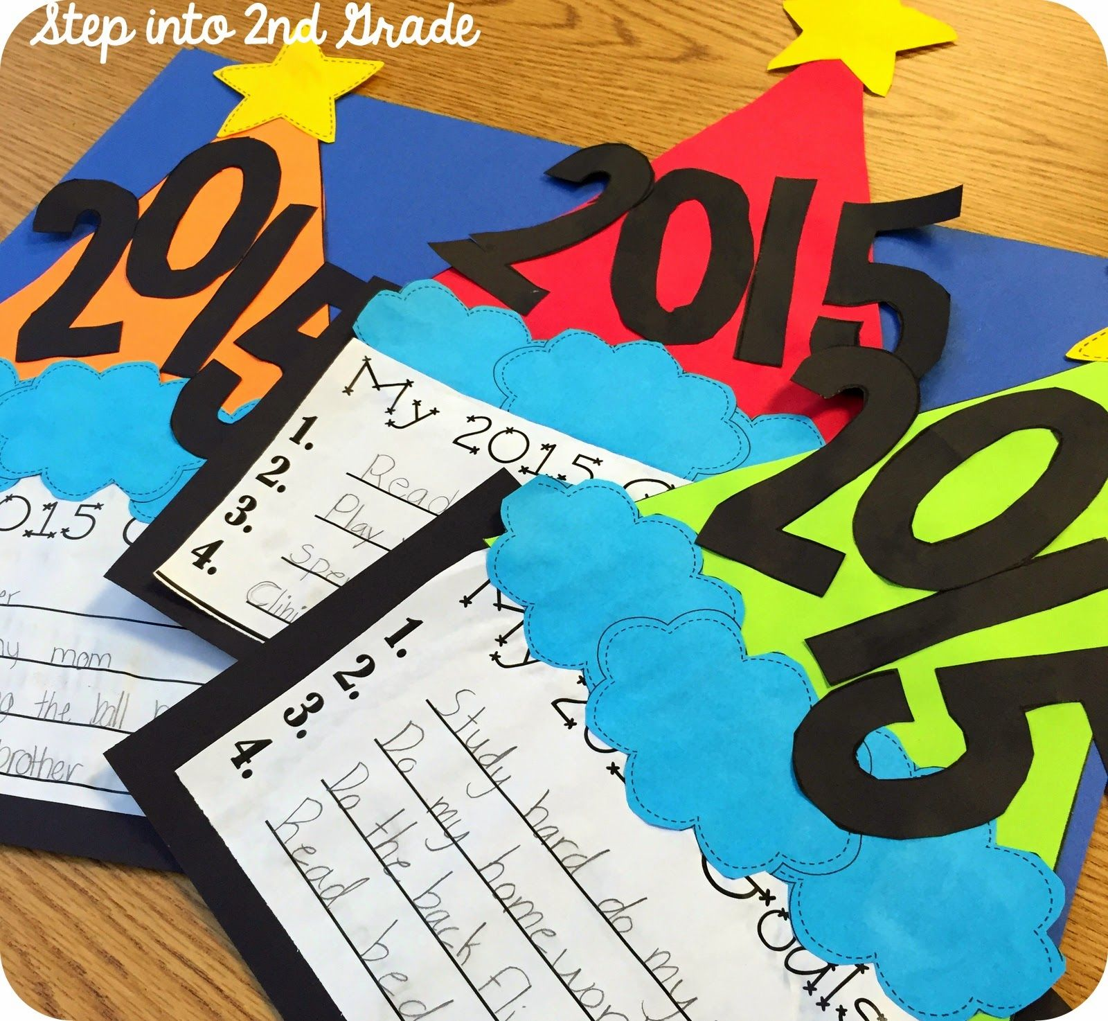 New Year crafts 2017 to school 25