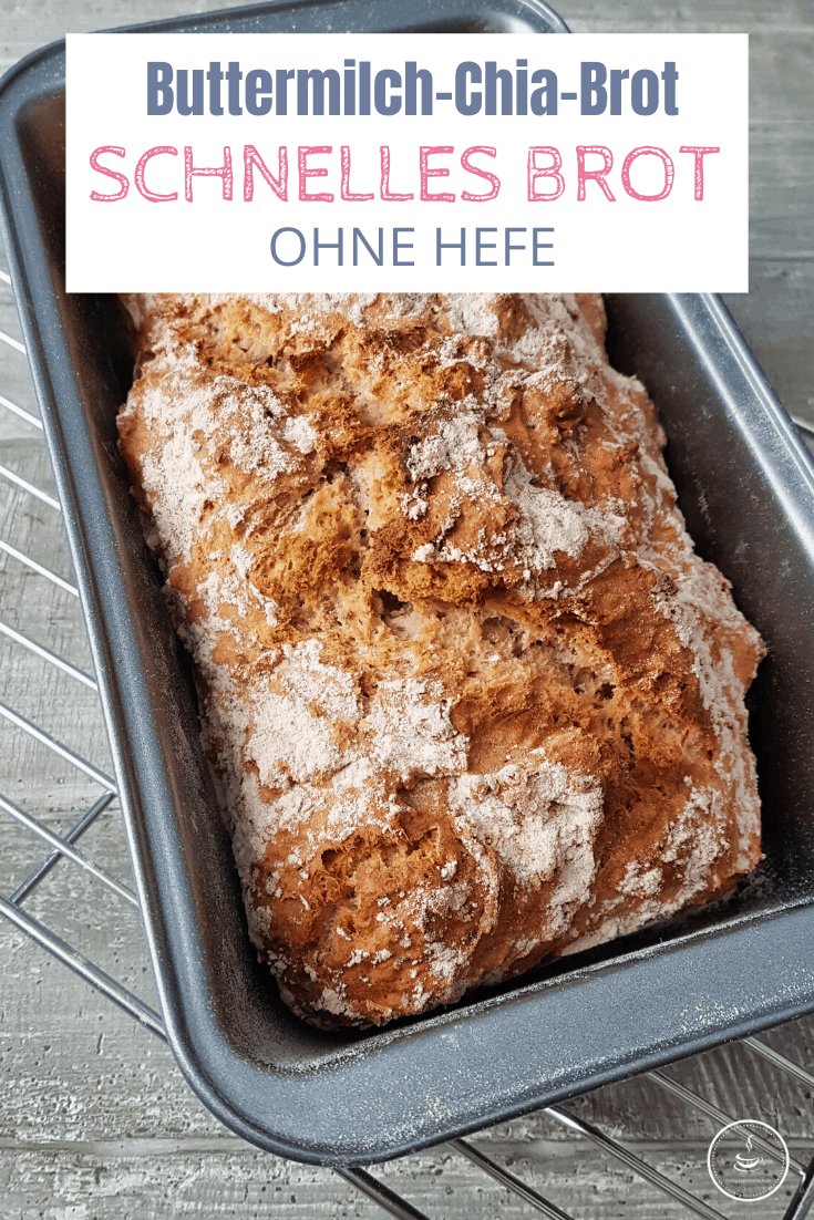Buttermilch-Chia-Brot in nur 60 Minuten backen