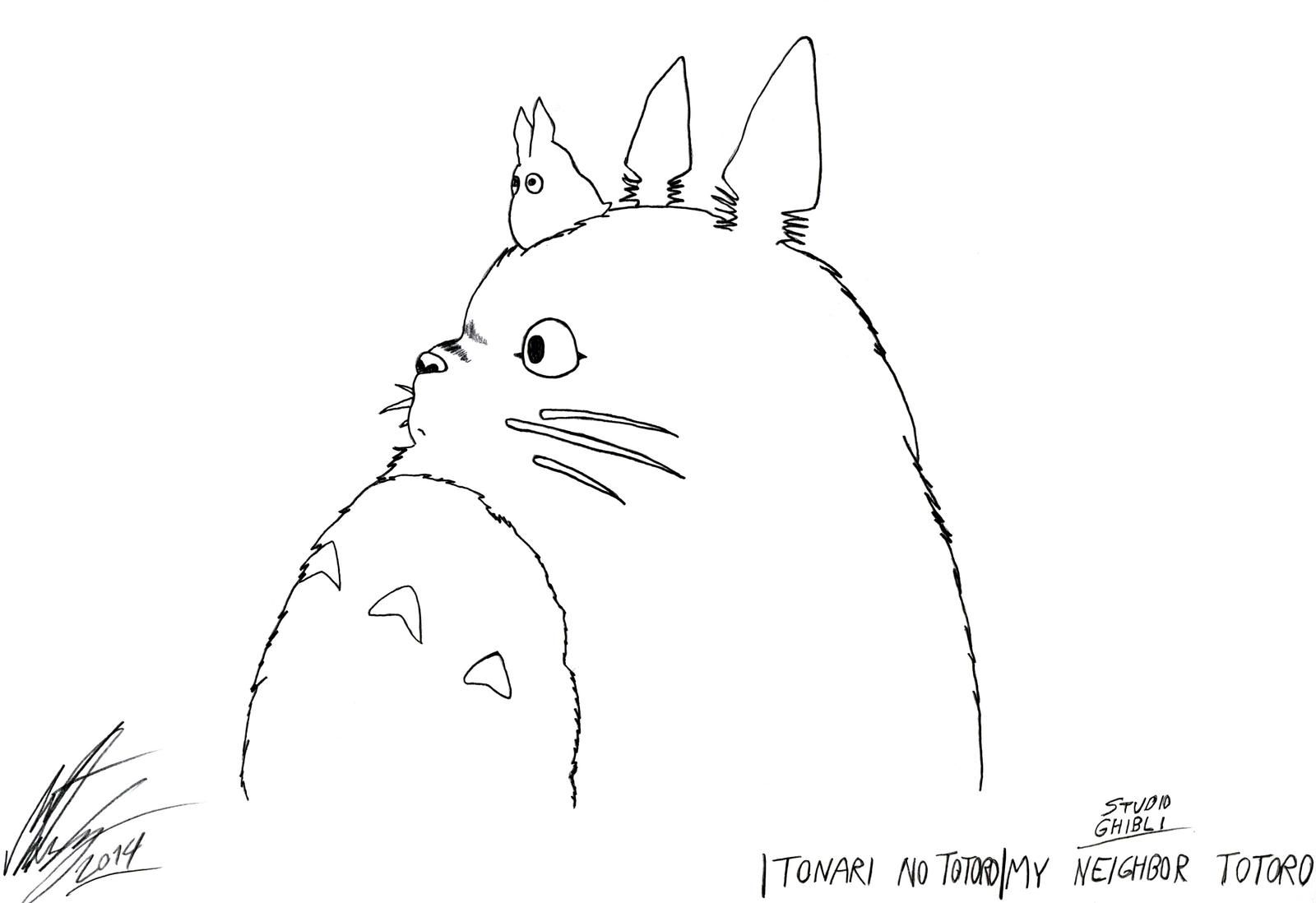 Studio Ghibli My Neighbor Totoro By Morteneng21 On Deviantart Totoro Drawing Totoro Art My Neighbor Totoro [ 1098 x 1600 Pixel ]