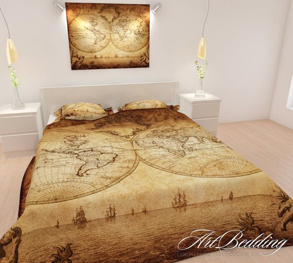 Bedding old map bedding old world map bedding set by artbedding bedding old map bedding old world map bedding set by artbedding publicscrutiny Image collections
