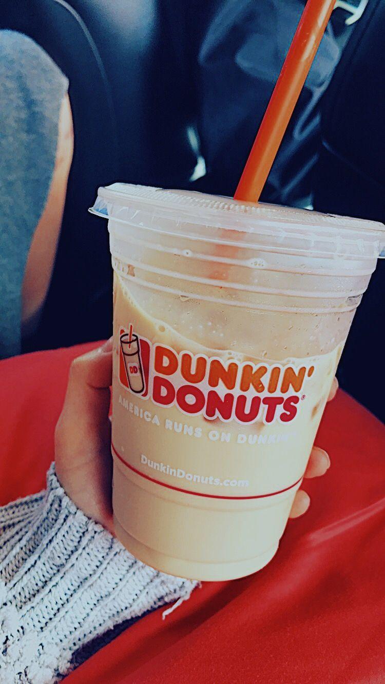 Dunkin Donuts iced coffee @themagnoliadoll instagram | coffee