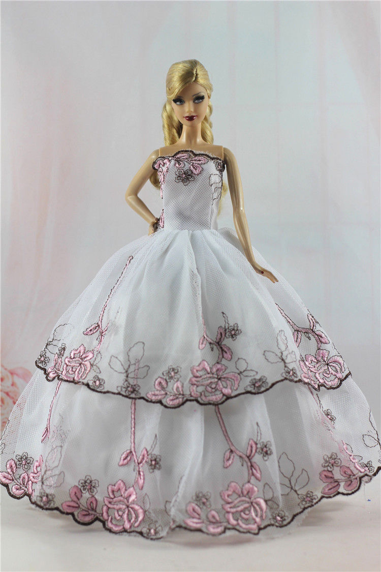 Purple Fashion Royalty Princess Party Dress//Clothes//Gown For 11.5in.Doll Y153
