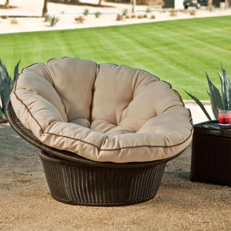 Merveilleux Outdoor Papasan Chair
