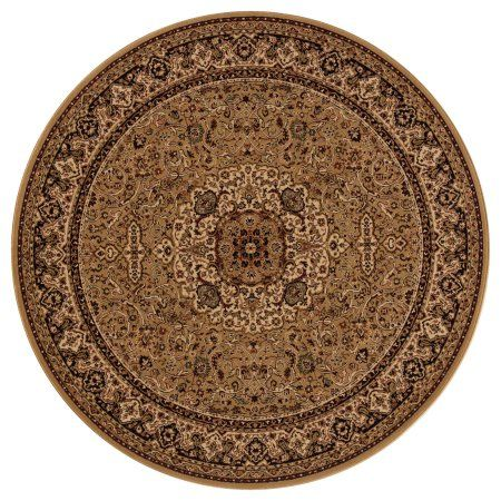 Concord Global Trading Persian Classics Collection Isfahan Area Rug, Gold