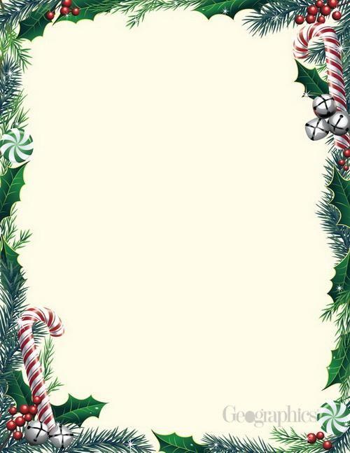 Bells Ivy Christmas Letterhead 8 5 X11 80 Pk Christmas Stationery Christmas Letterhead Christmas Stationery Printable