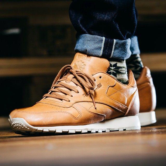 62901831354 Reebok Classic Leather Lux Horween (braun) - 43einhalb Sneaker Store Fulda