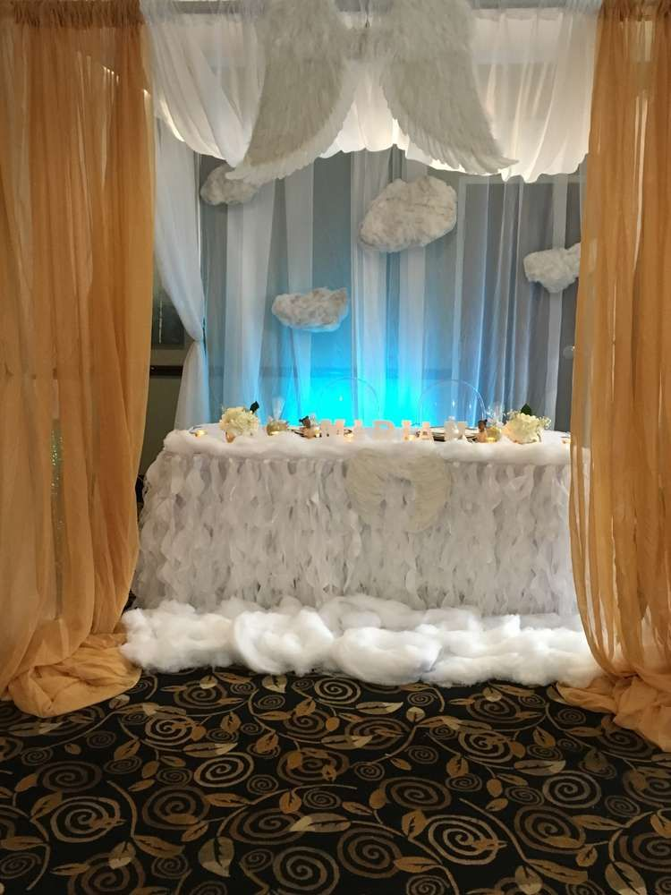Heaven Sent Baby Shower Party Ideas  Photo 23 Of 43 -9955