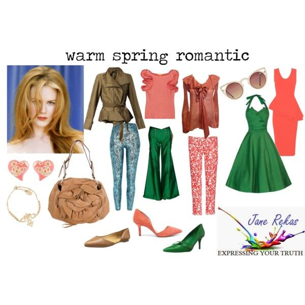 Warm Spring Romantic Warm Spring Outfits Warm Spring Colors Warm Spring