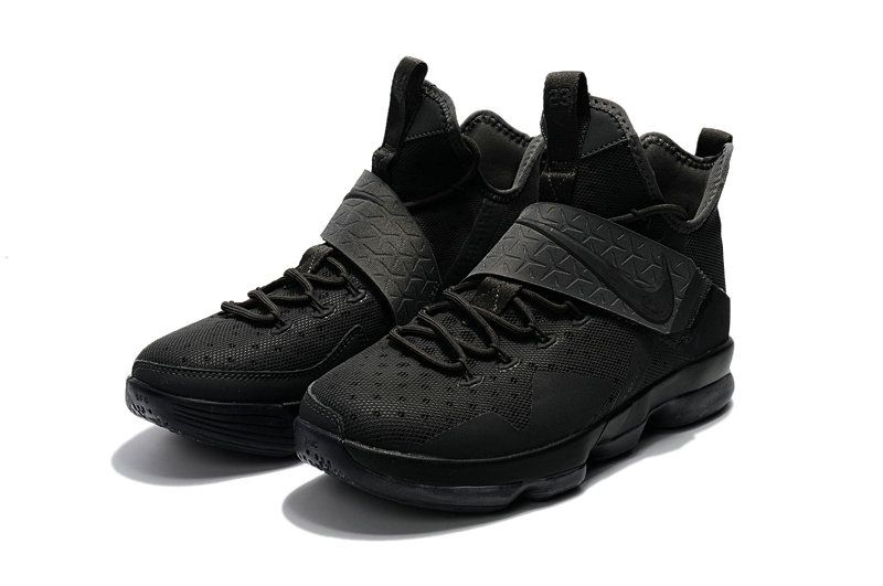 lebron james black sneakers