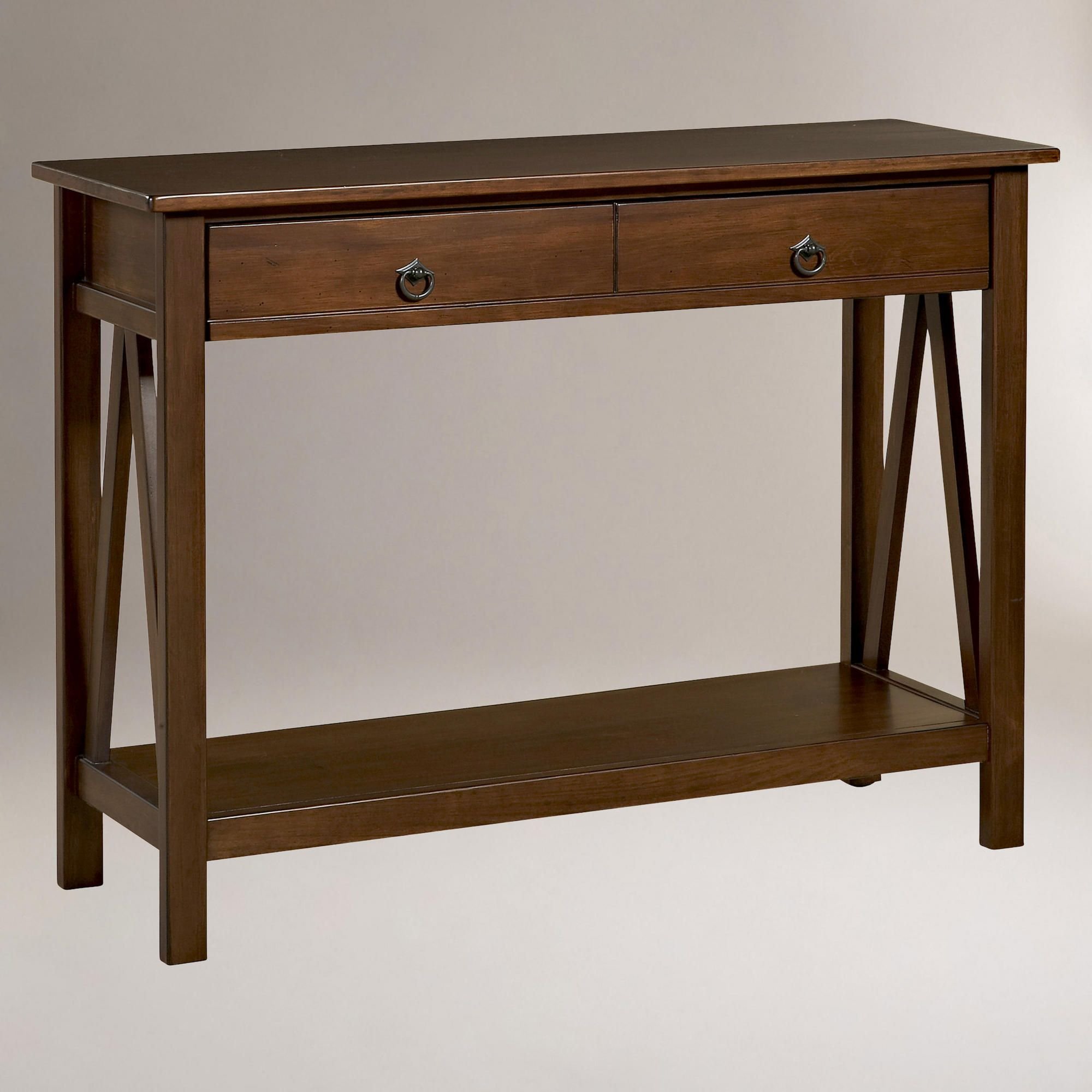 End of hallway storage  Marshall Console Table  World Market    Furniture  Pinterest