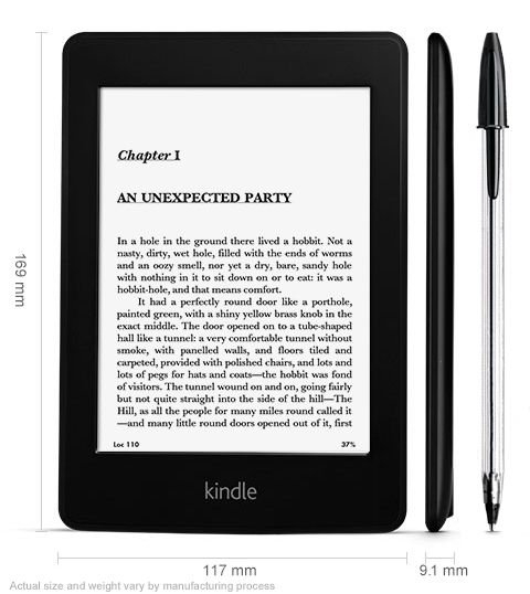 Gbp 169 Kindle Paperwhite 3g E Reader With Free 3g And