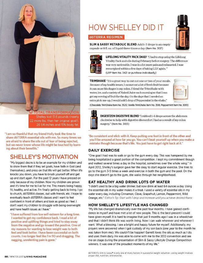 Image Result For Doterra Slim And Sassy Wrap Results Doterra