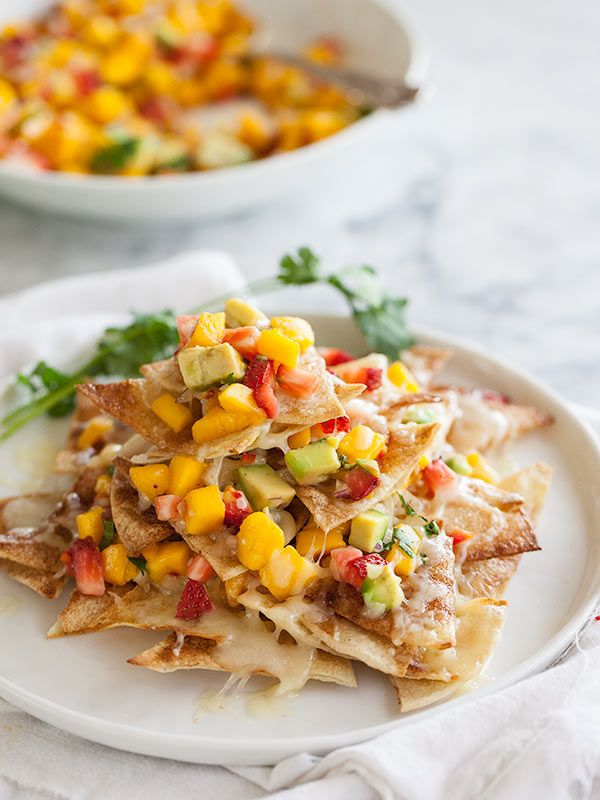 Dessert nachos with strawberry mango and avocado salsa makes 10 dessert nachos cinnamon sugar tortilla chips with strawberry mango and avocado salsa mexican food recipes breakdown with photo steps on theberry forumfinder Images