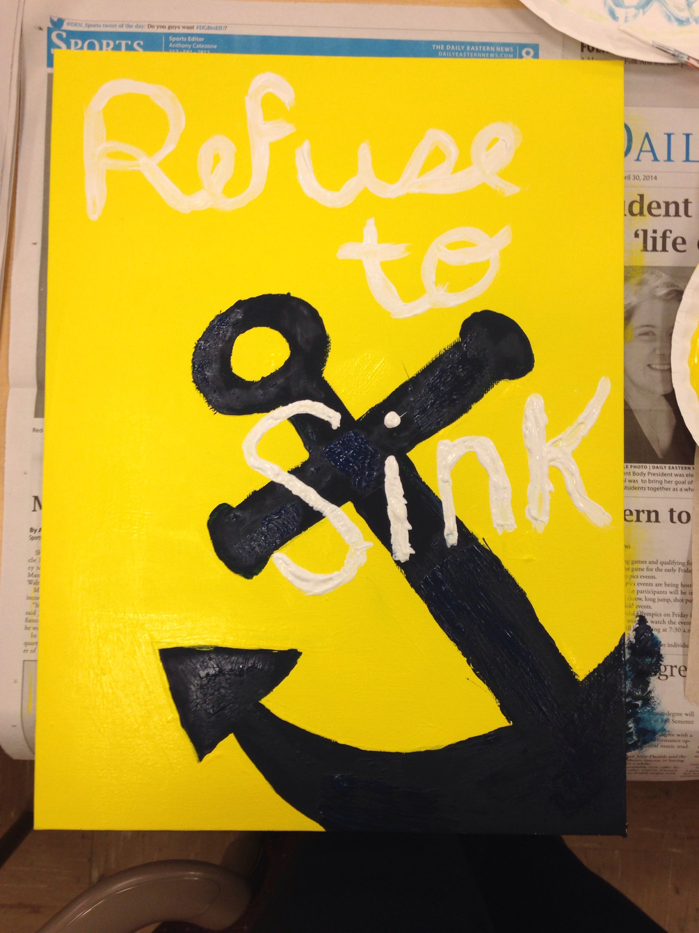 Canvas anchor