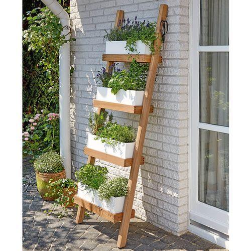 Photo of Kräuterleiter-Idee zum Selberbasteln  [ #Balcony Garden #Balcony Garden apartme…