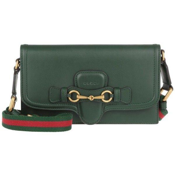 Gucci Lady Web Crossbody Dark Green in green, Shoulder Bags ...