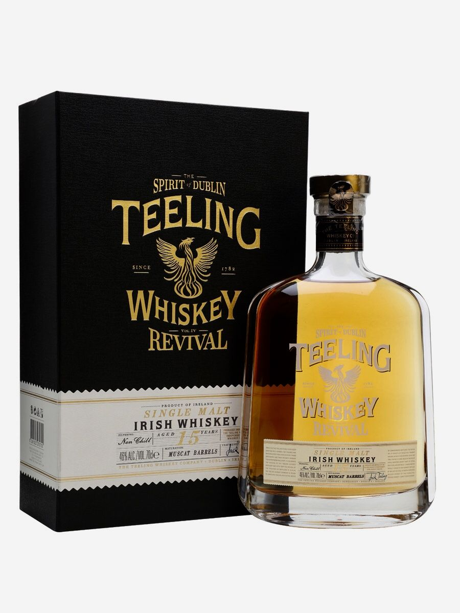 Teeling 15 Year Old The Revival Vol Iv Muscat Finish Ireland Com