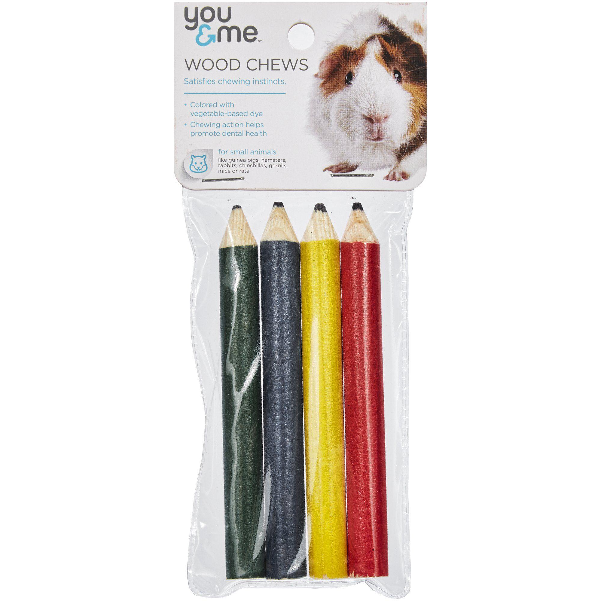 You Me Pencil Wood Chews 0 81 Oz Petco In 2020 Small Pets Petco Pet Toys