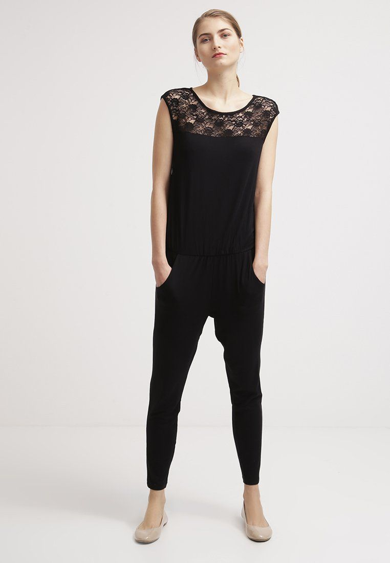 Benetton Jumpsuit - black - Zalando.be