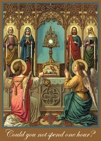 Jesus in the most Blessed Sacrament