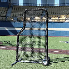 7x4 84 Premier L Net And Frame With Wheels Frame