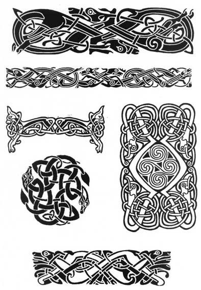 Viking Armband Tattoo Designs: Nordic Tattoo, Norse Tattoo, Celtic Tattoo
