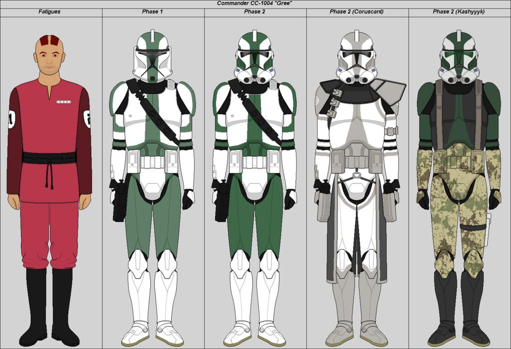 Lego Star Wars Custom Commander Gree Republic Clone Commander