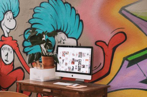 Imaginative Under Sea Wall Murals Design Ideas In Kids Bedroom