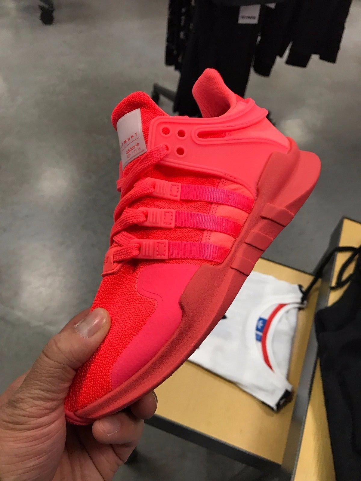 adidas eqt support adv all red