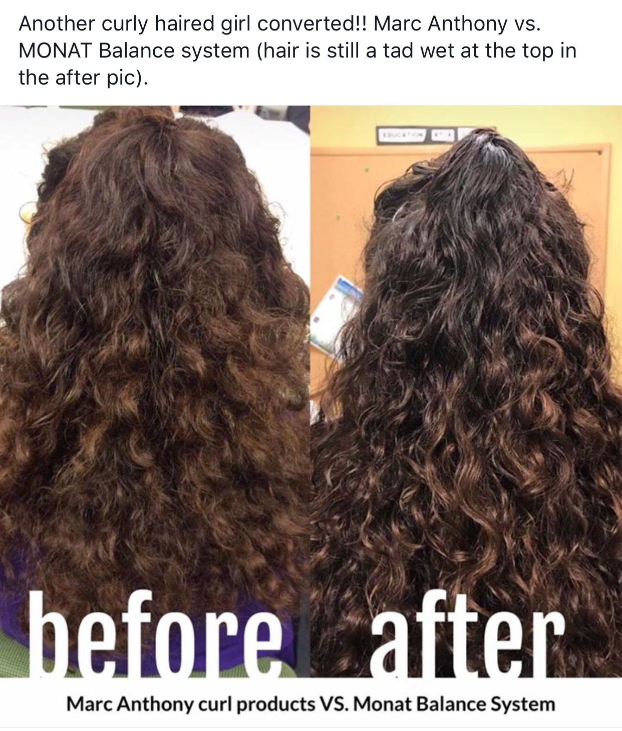 Monat vs. Marc Anthony Monat Real Results. Make the