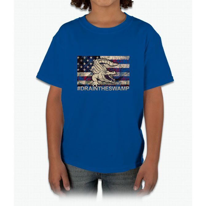 Drain The Swamp In Washington DC Vote Trump T shirt Young T-Shirt