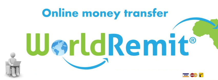 WorldRemit online money transfer is a cheaper method as