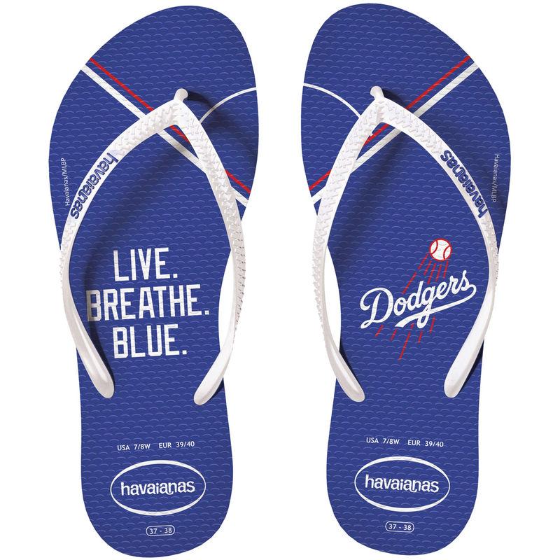 Los Angeles Dodgers Havaianas Women's Slim Sandals