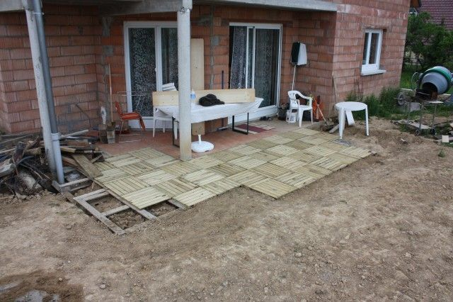Terrasse mit europaletten terrasse pinterest messages 37 and construction - Europaletten terrasse ...