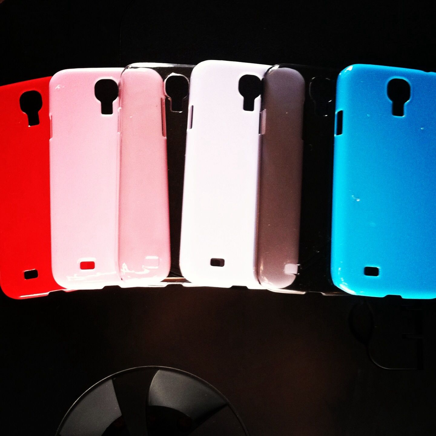 Samsung Galaxy 4s Plain Colorful Cases.