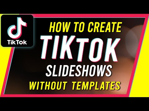 How To Make A Tiktok Video With Pictures Google Search Create Photo Photo Template Photo Slideshow