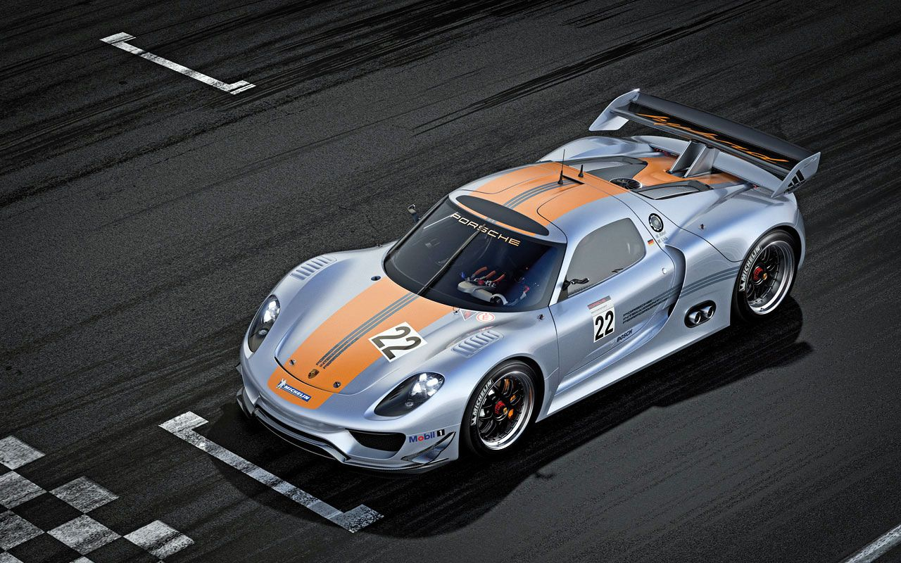At The 2011 Detroit Motor Show Porsche Has Presented 918 RSR An Experimental Racing Car That Combines Hybrid Powertrain Of 911 R With