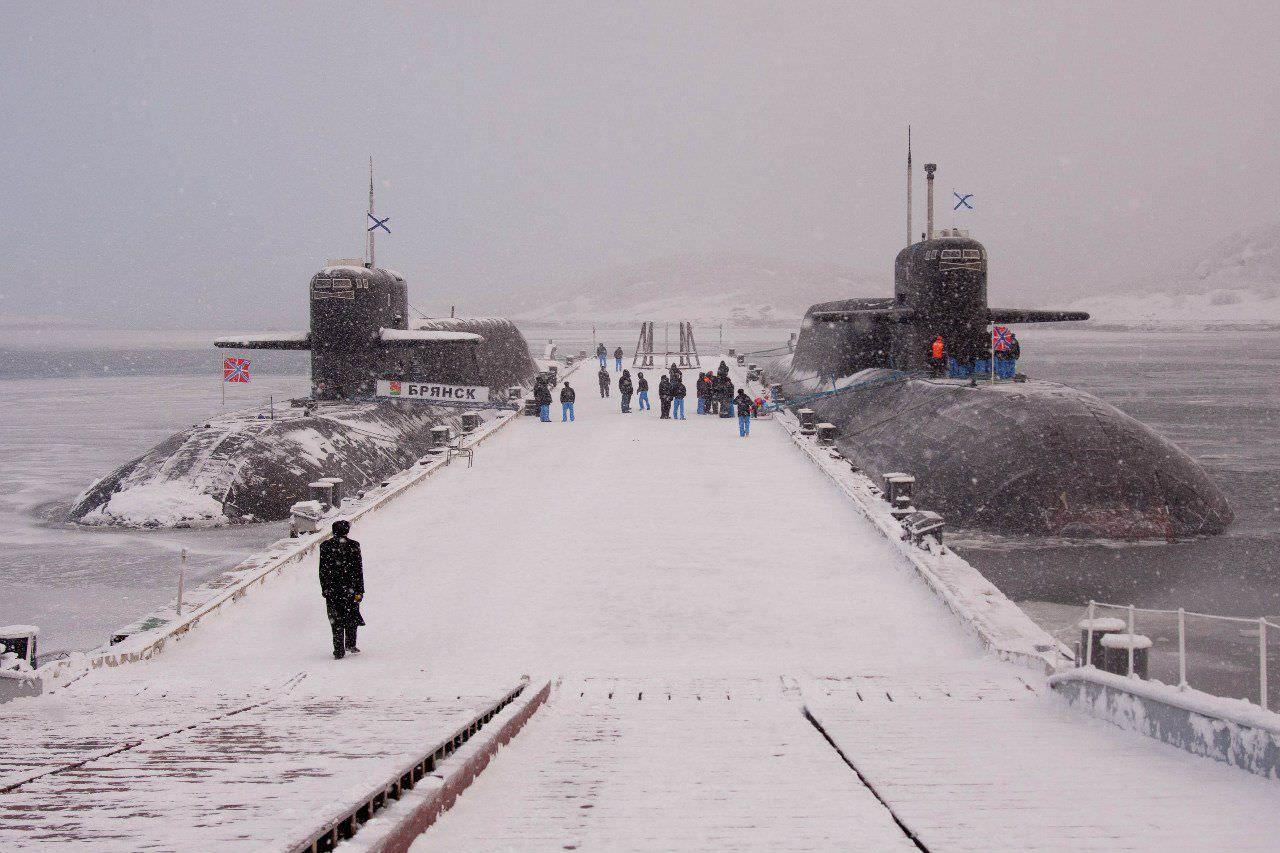 Russian Delta IV SSBNs [1280 853] Russian submarine