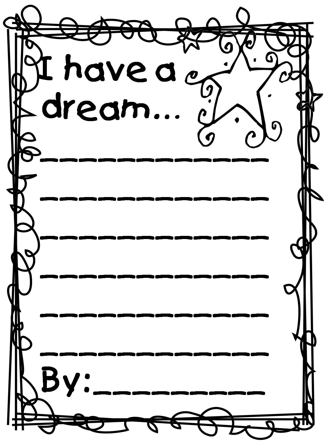 Martin Luther King Jr Coloring Pages And Worksheets En