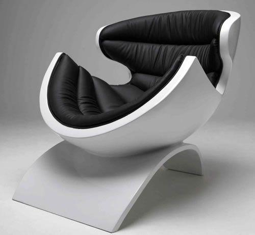 Futuristic Furniture, Modern, Futuristic Armchair, P38