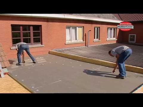 Firestone Epdm Rubber Roof A Long Term Solution For Domestic Flat Roofing Flat Roof Membrane Roof Roofing
