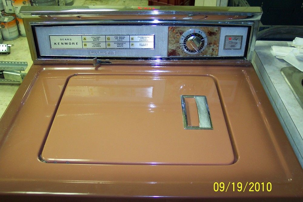 Kenmore Washing Machine 1970 | Laundry Room in 2019