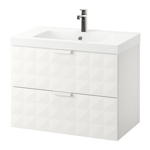 Godmorgon Odensvik Sink Cabinet With 2 Drawers Ikea 10 Year