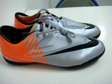 Sepatu Futsal Nike Mercurial Glide Tf Wc Silver Orange Sepatu